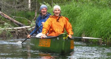 Kanutour in Finnland